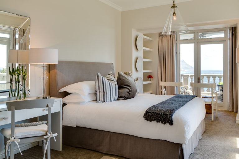 Cape View Clifton bedroom layout Junior suite