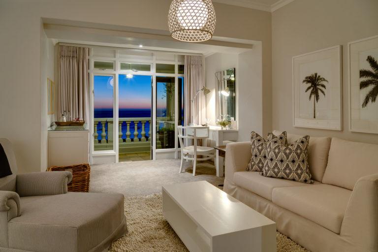 Cape View Clifton evening comfort lounge decor