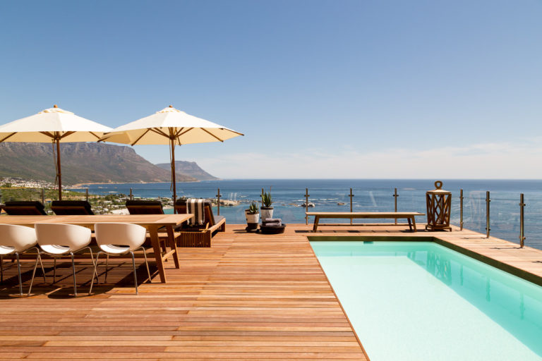 Cape View Clifton wooden balcony deck