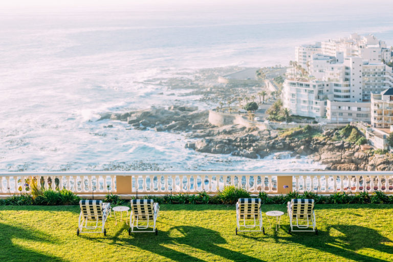 Uninterrupted views from the gardens at Ellerman House