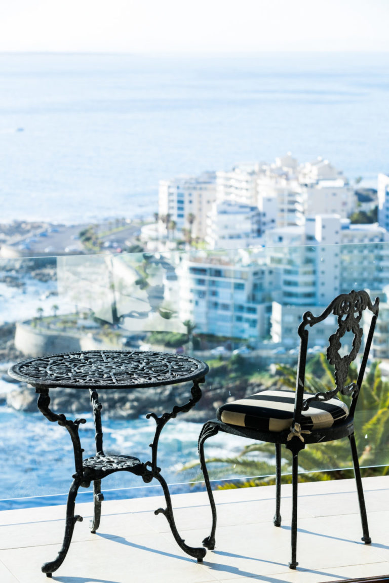 Soak up the Atlantic views from your balcony at Ellerman House