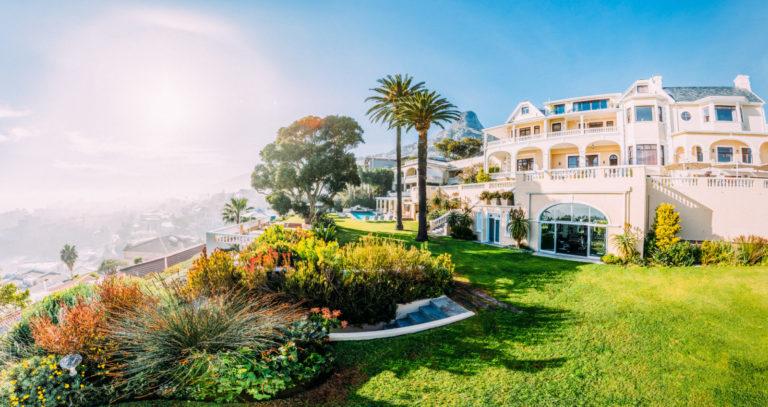 Ellerman House boasts magnificent gardens