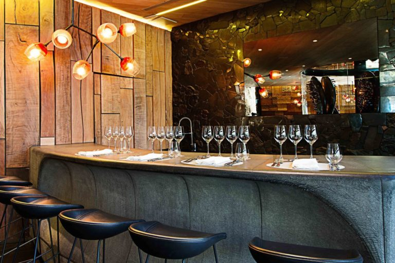 Wine tasting in the Ellerman House cellar is a signature experience