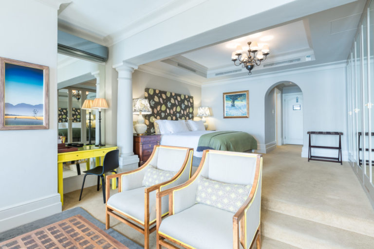 Ellerman House elegant room decor