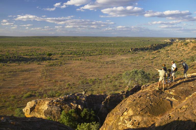 The views in the Mashatu Private reserve are breathtaking