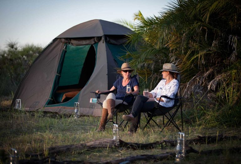 The thrilling fly camp experience at Mopiri Camp for adventurous guests