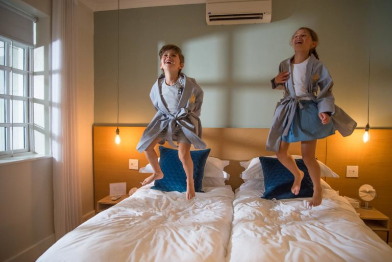 More Quarters Hotel welcomes children with their own amenities and treats