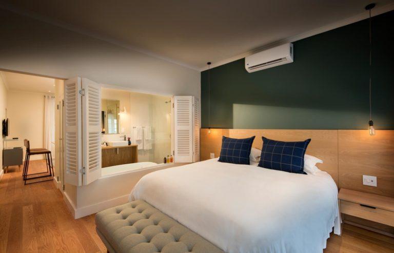 Elegant interior of luxury room at Quarter