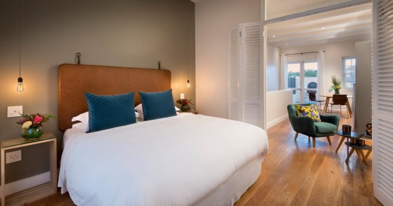 More Quarters luxury bedroom interior
