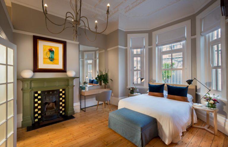 More Quarters Redcliffe House bedroom elegance
