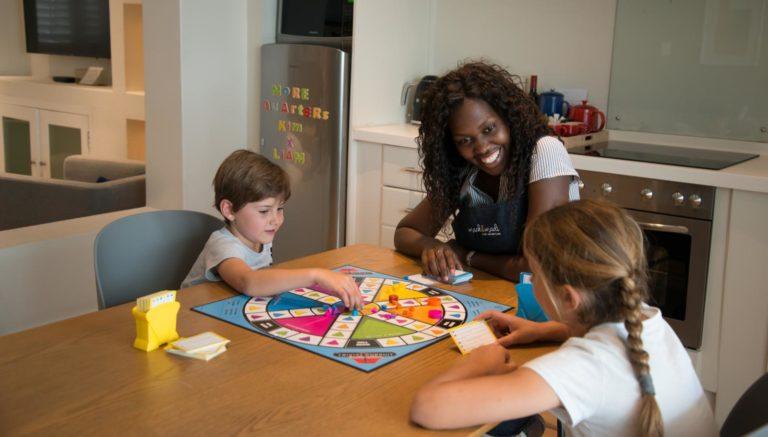 More Quarters caregivers have plenty of time for kids