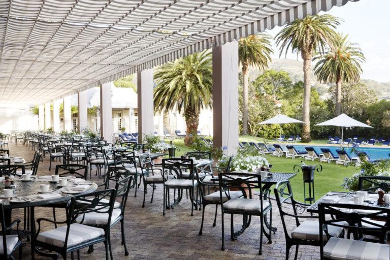 Mount Nelson patio presence