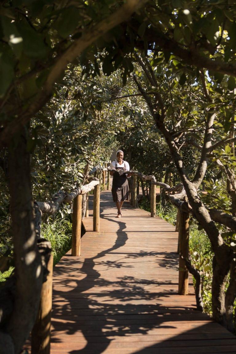 Nokanyana Camp Walkway