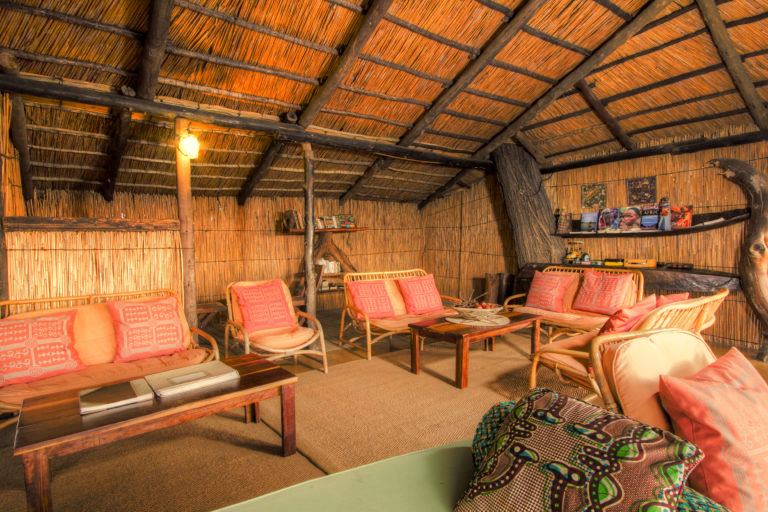 The lounge area at Oddballs