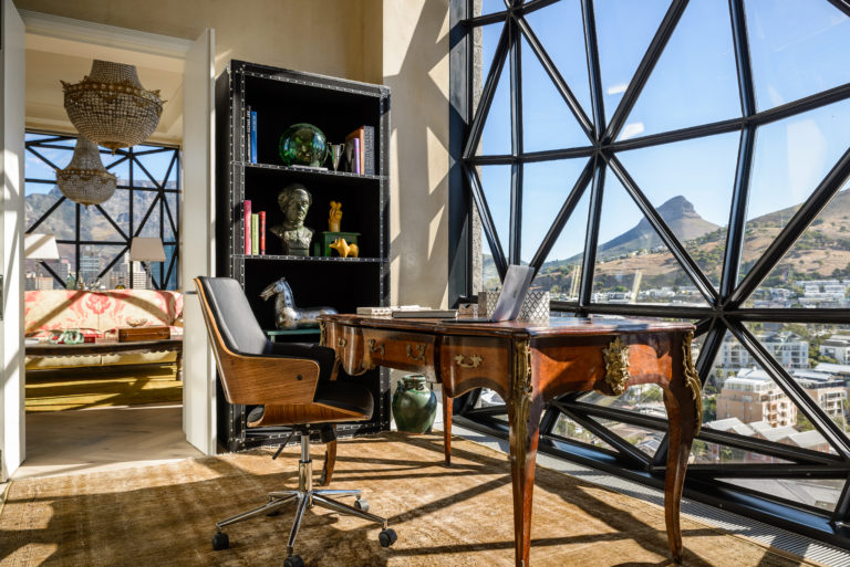 The Silo's decor focuses on art and culture of Cape Town
