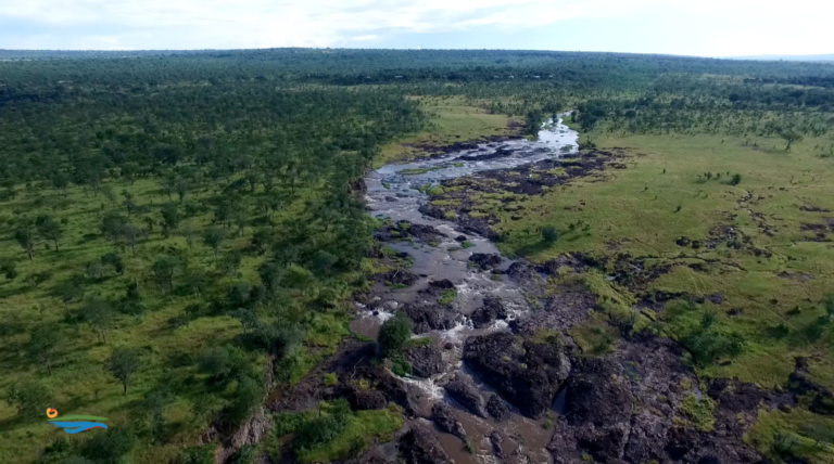 Views of the mighty Zambezi river from The Wallow