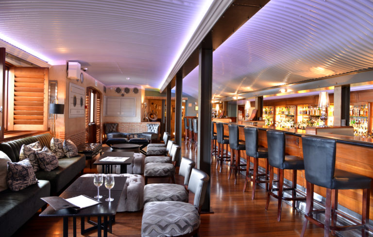 The Bascule bar at the Cape Grace Hotel