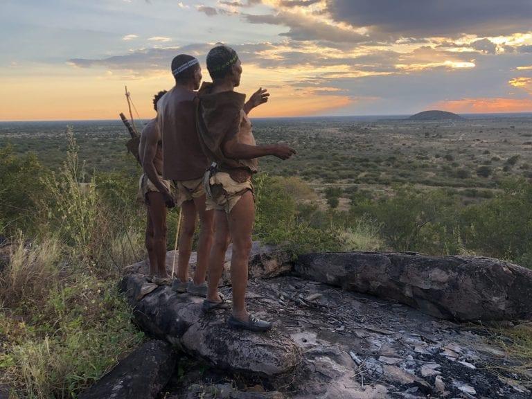 Tsau Hills offers informative guided walks with San Bushman in the Kalahari