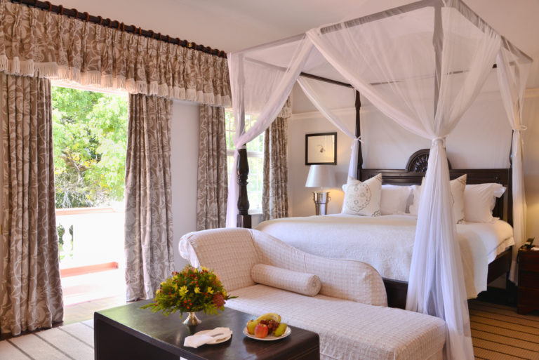 The spacious honeymoon suites are situated in the Signature Stables Wing