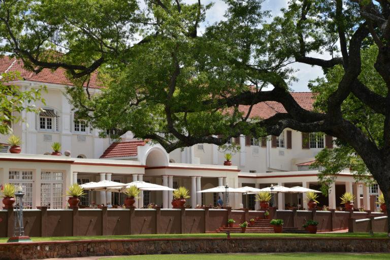 Victoria Falls Hotel boasts prime location with views of Victoria Falls
