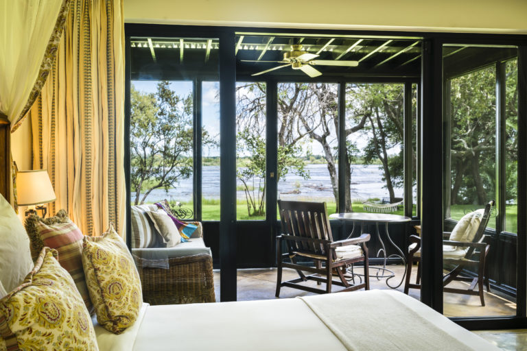 Gorgeous corner deluxe room as seen at the Royal Livingstone