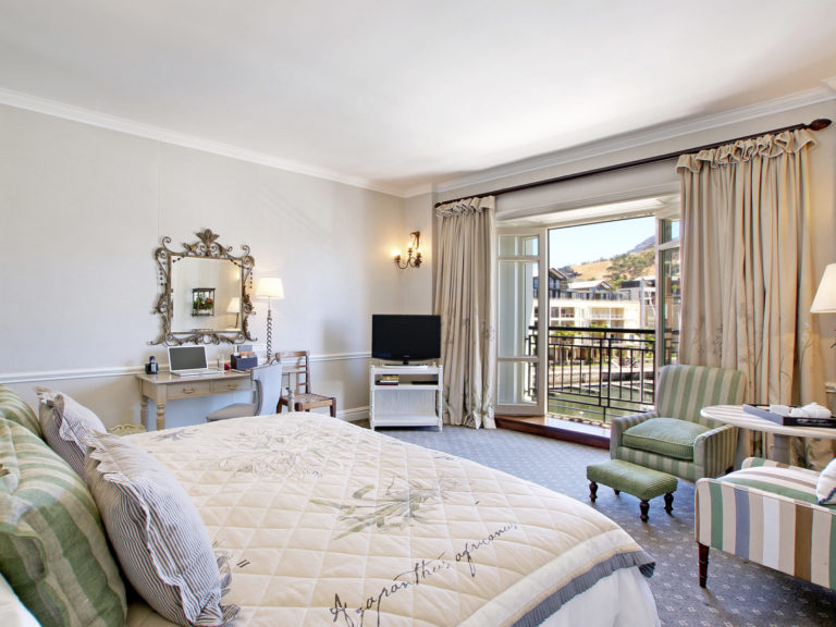 The Table Mountain luxury room at The Cape Grace