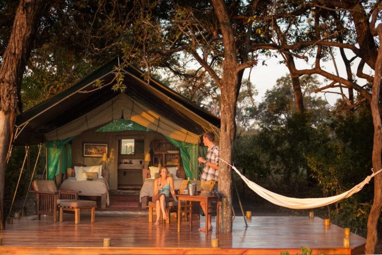 Horse Back Safari tent exterior