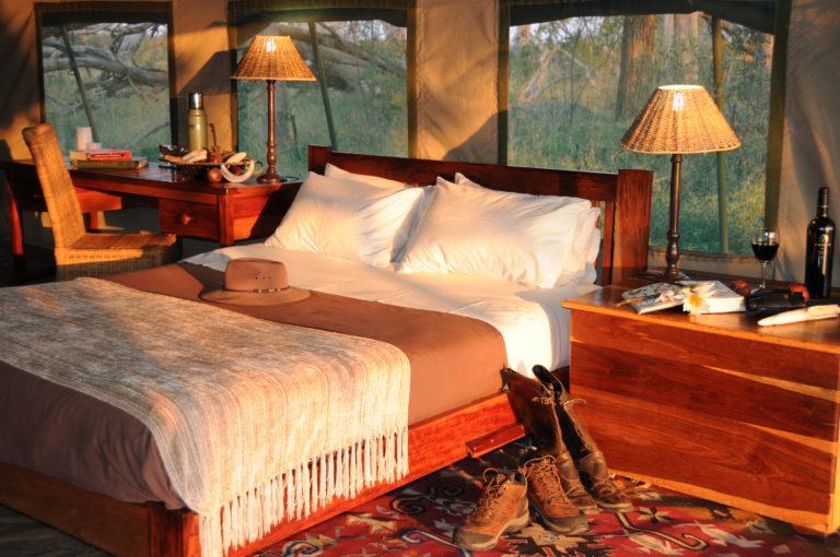 Horse Back Safari Macatoo camp interior design