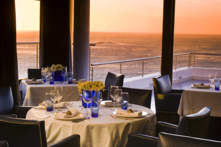 Azure restaurant with ocean view at Twelve Apostles view