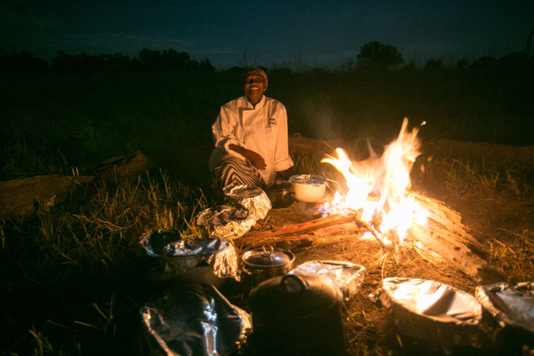 Traditional bush dinners are an exciting activity for guests