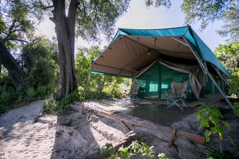 Bushman Plains Camp tent exterior