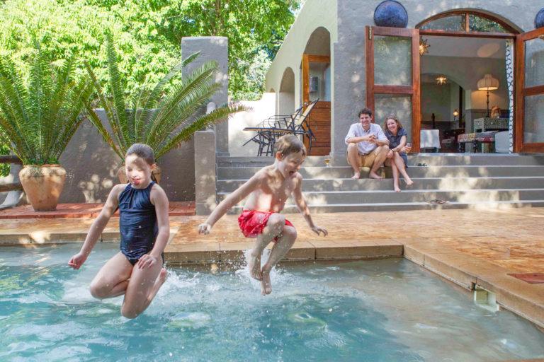 Chobe Game lodge is the perfect destination for a Botswana family safari