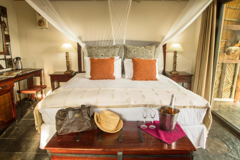 Room interior at Muchenje Lodge