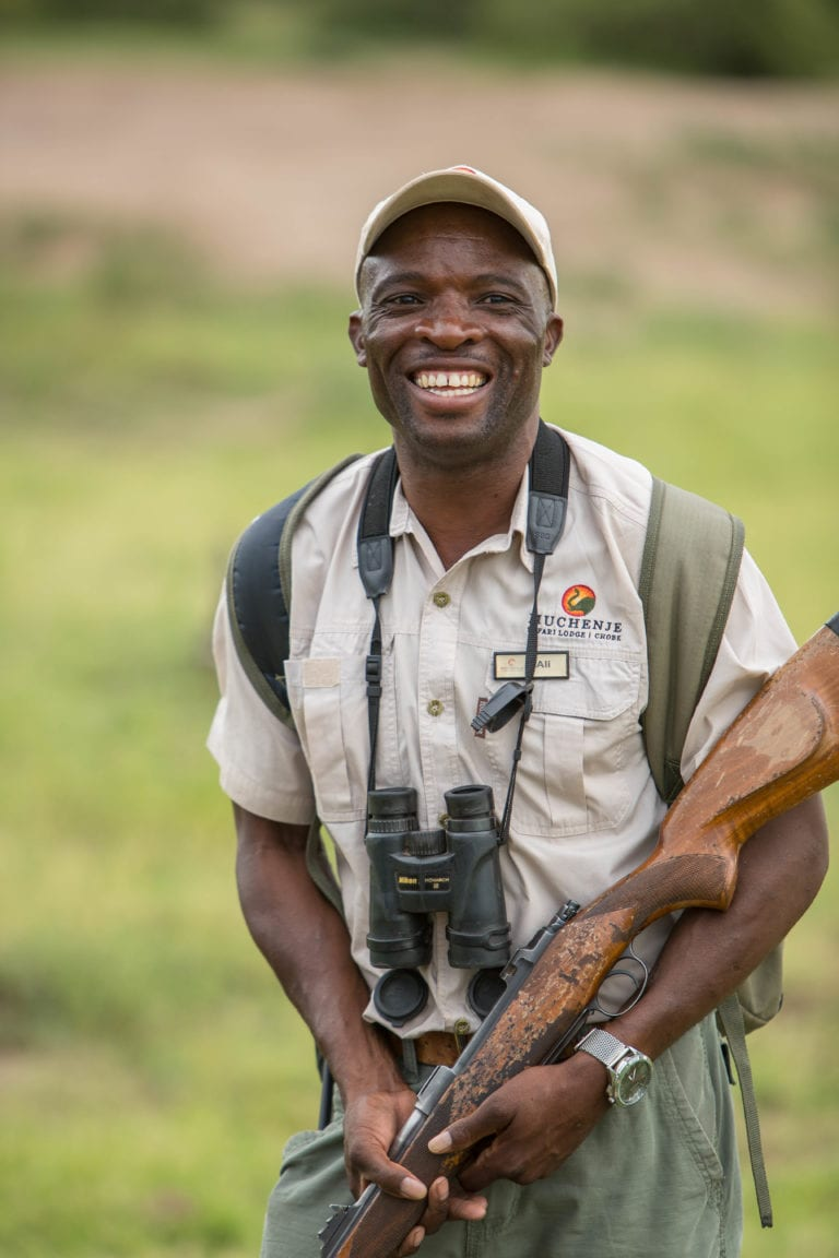 The guides at Muchenje are professionally trained and love engaging with guests