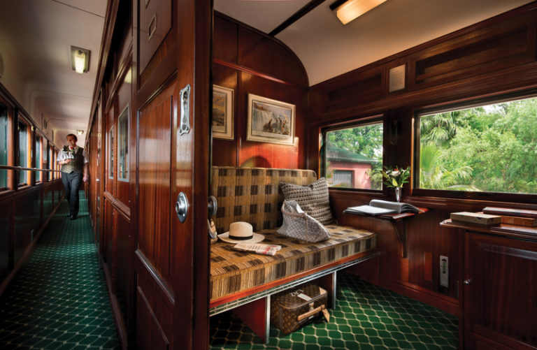 Rovos Rail Pullman suite full view