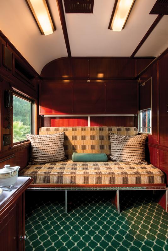 Rovos Rail Pullman suite interior