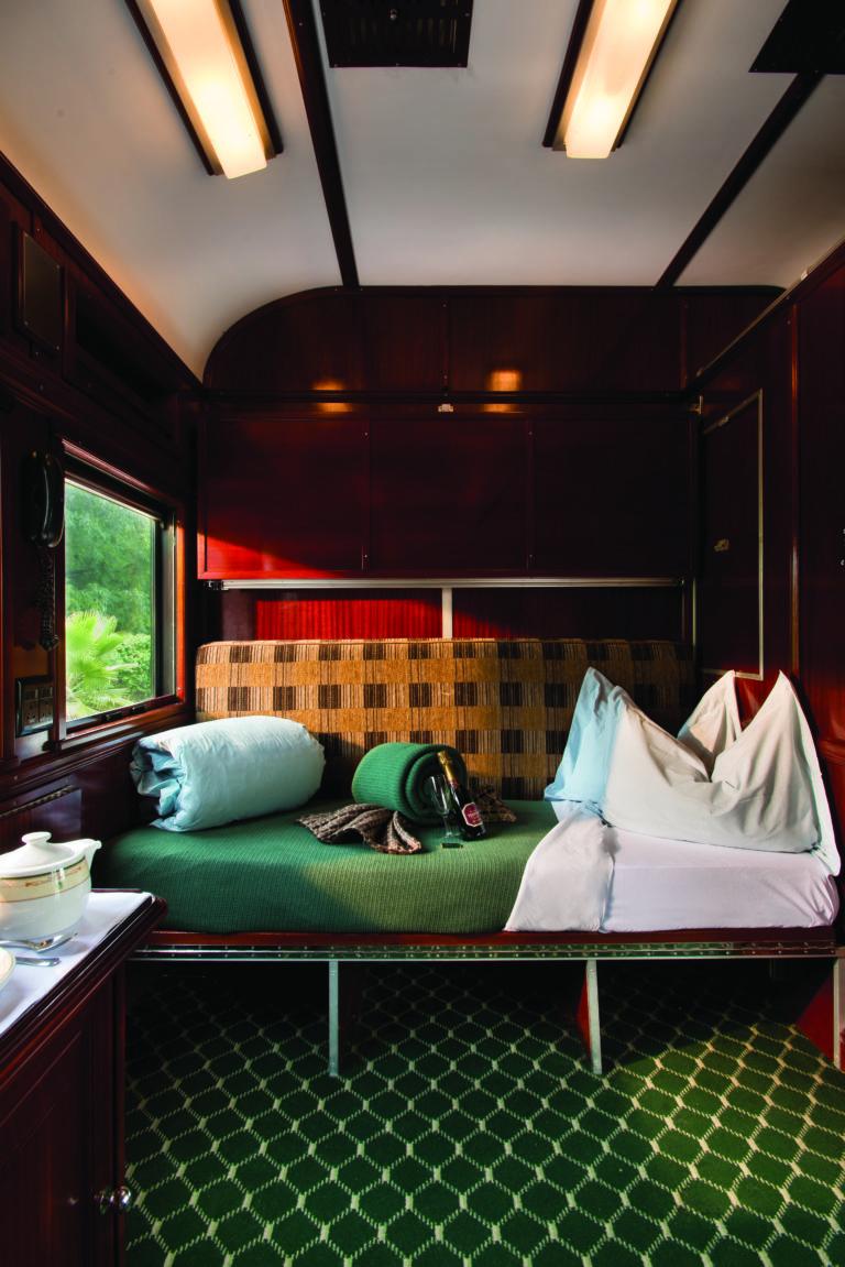 Rovos Rail Pullman suite single bunk