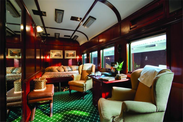 Rovos Rail Royal suite interior
