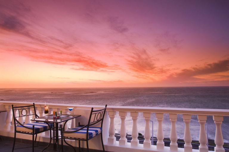 Sundowners on the Leopard Lounge Terrace at Twelve Apostles
