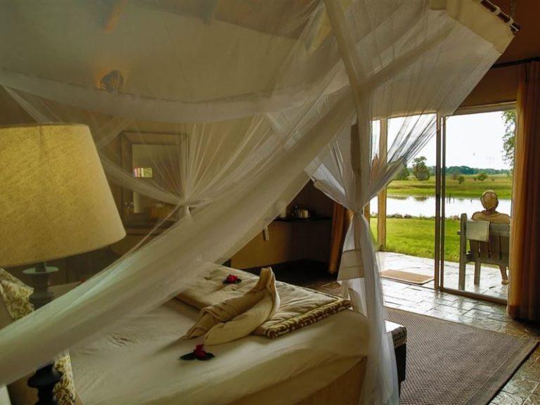 Thamalakane River Lodge room interior
