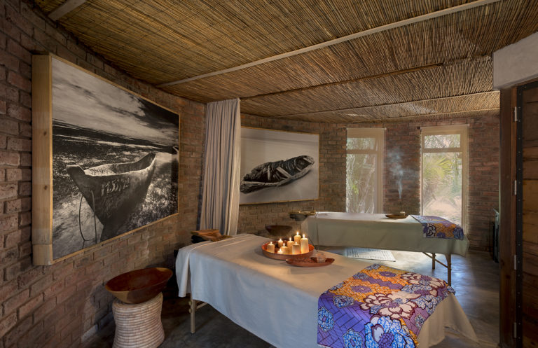 Thorntree River Lodge spa offers an array of luxury treatments