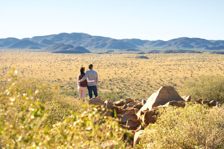 Tswalo hiking trails are popular with adventurous travelers