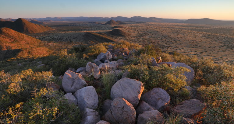 Rocky Kalahari landscape at Tswalu