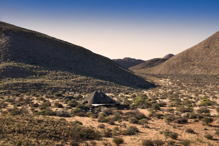 The lavish Tarkuni Homestead at Tswalu