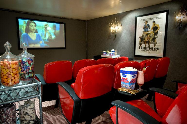 Twelve Apostles' private cinema feature