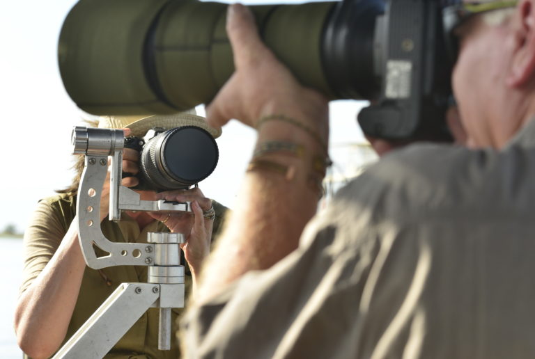 Zambezi Queen's photographic safari boat is equipped for cameras