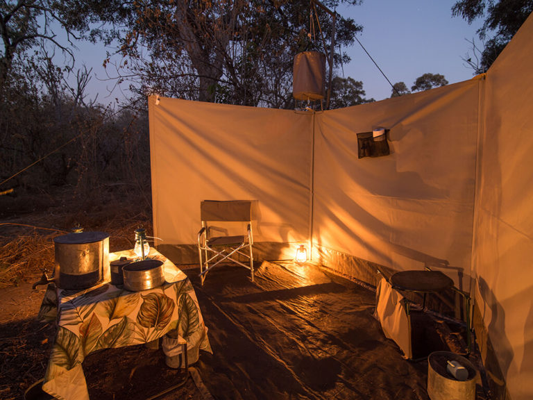 Exceptional outdoor shower experience with Beagle Expeditions