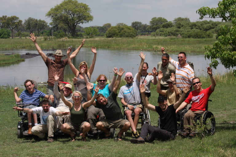 Endeavour Safaris run scheduled group tours for people with disabilities