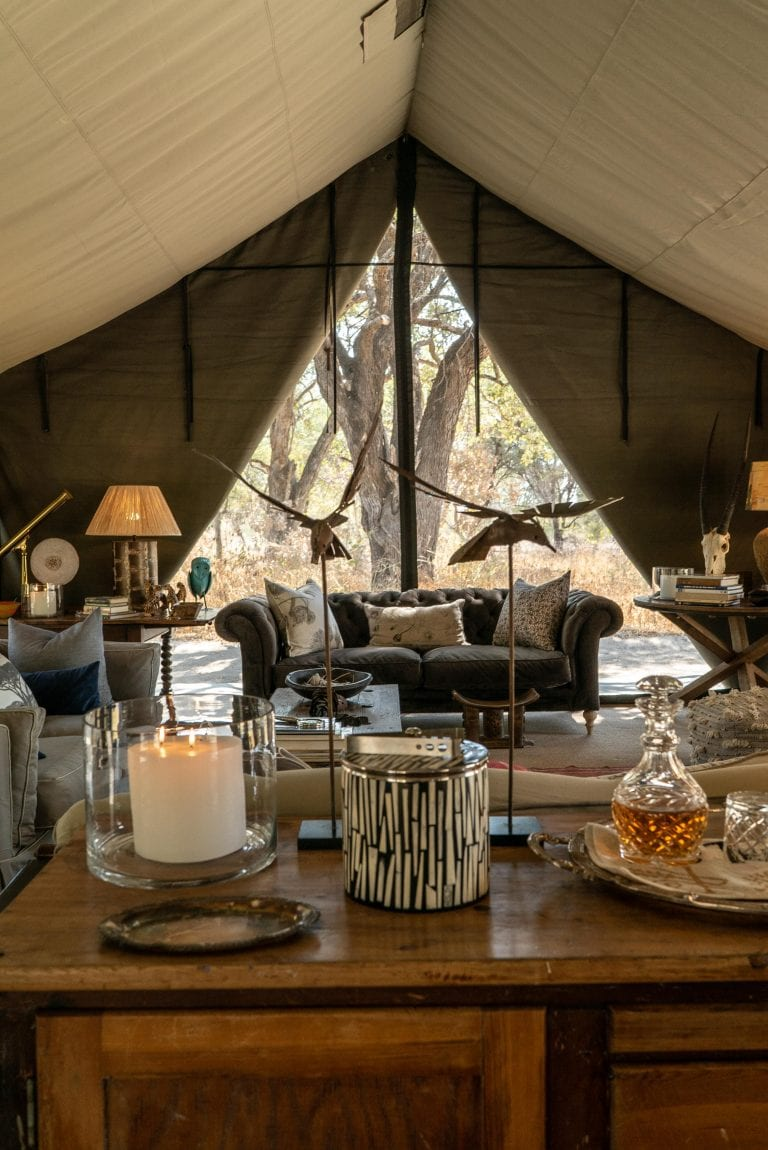 Delicate decor details at Little Pan Camp