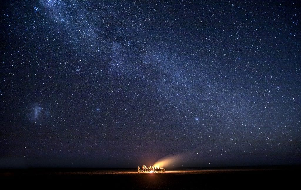 The Makgadikgadi pans offers some of the best sleep-out and star bed experiences in Botswana